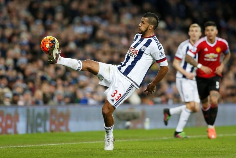 Football Soccer - West Bromwich Albion v Manchester United - Barclays Premier League - The Hawthorns - 6/3/16 West Brom's Salomon Rondon in action Action Images via Reuters / Carl Recine Livepic