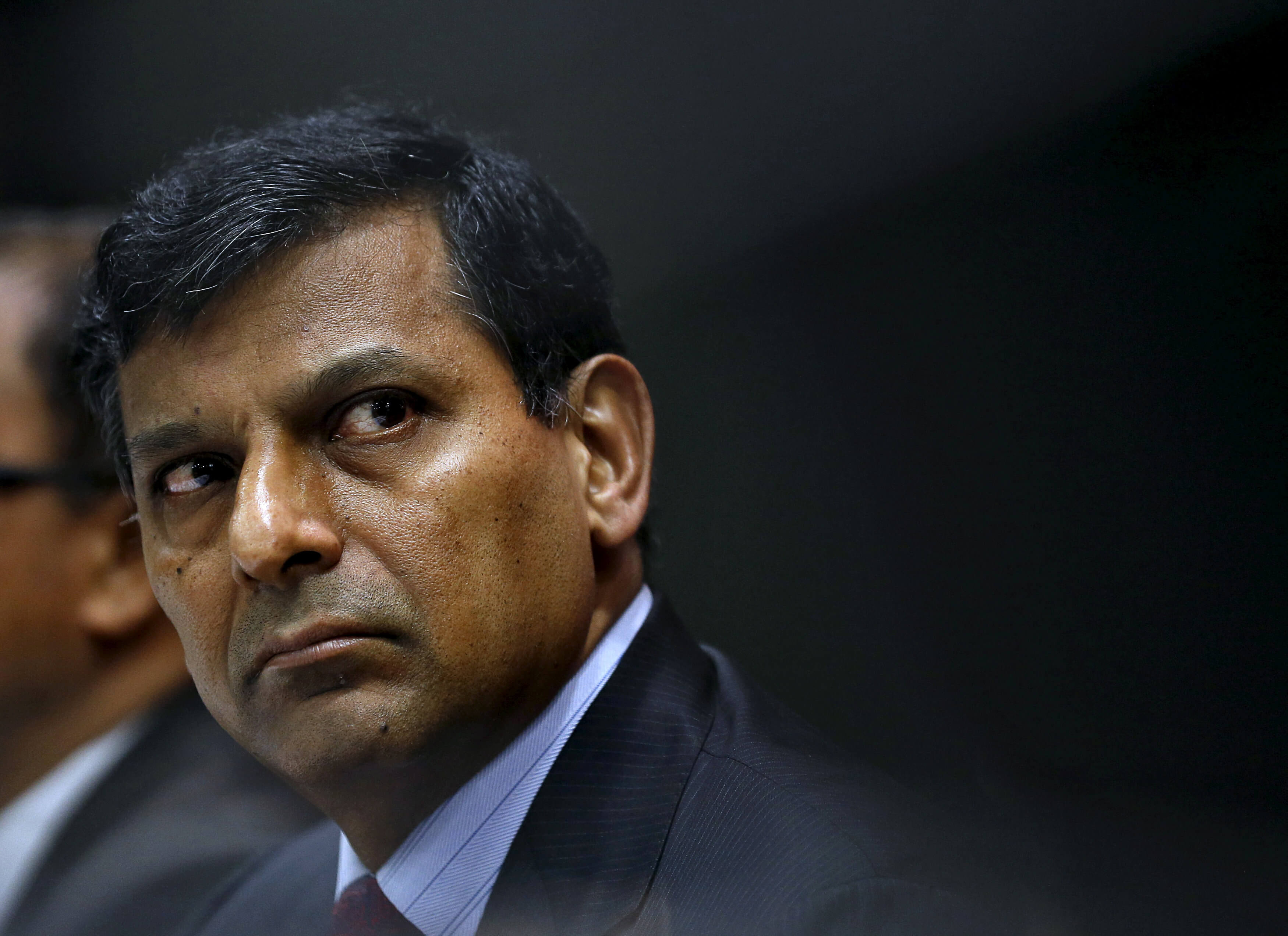 Reserve Bank of India (RBI) Governor Raghuram Rajan attends a news conference after their bimonthly monetary policy review in Mumbai, India, April 5, 2016. REUTERS/Danish Siddiqui/File Photo